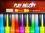 Virtual Piano Play Melody